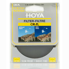 HOYA 37/40.5/43/46/49/52/55/58/62/67/72/77/82 MM CPL CIR-PL Slim Filter DSLR