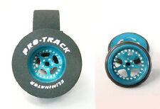 "Pro Track ""Star Blue"" 1 3/16"" x .500"" Matching Rr & Ft Drag 1/24 Slot Car Tires"