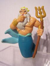 Disney PVC The Little Mermaid figurine Triton Applause 9cm high