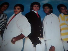 1984 vintage JACKSONS WORLD TOUR poster--PEPSI promo--MICHAEL JACKSON--original