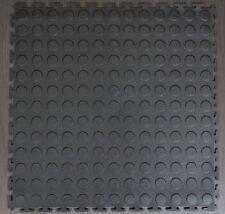 BLACK PVC INTERLOCK TILES/ GARAGE FLOORING /RUMPUS / WORKSHOP/ GYM / ALL PURPOSE