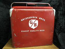 Vintage 1950's Griesedieck Brothers Beer Cooler