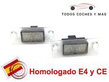 PLAFONES LED MATRICULA AUDI A4 B5 95 - 2000 HOMOLGADO E4 CE LUCES LUZ ENVIO 24H