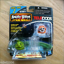 ANGRY BIRDS STAR WARS Jabba The Hut & Wicket The Ewok 2-pack TELEPODS Series 2