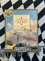 Their Finest Hour The Battle of Britain Lucasfilm IBM PC Game VTG Big Box 1989