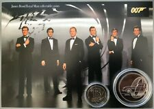 New James Bond royal mint £5 and a-z 10p coin gift set