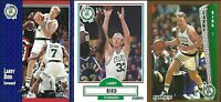 LARRY BIRD, Boston Celtics, 3 Card Lot