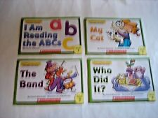 Sound out the word Phonics Readers 4 book lot GUC soft cover