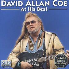 David Allan Coe - At His Best [New CD]