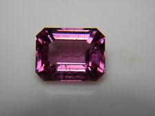 2.03ct rare Purple Pink Burmese Spinel gem FLUORESCENT emerald cut Mogok Burma
