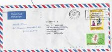 St Vincent 1981 Kingstown- Ramsgate UK  Airmail Cover Fine Condition