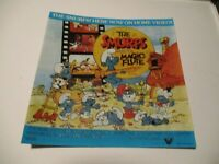 The Smurfs And The Magic Flute Promotional Video Store Promo Sticker Vestron