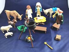 PLAYMOBIL Nativity Scene Christmas Decorations Toys 24 pieces