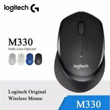 Logitech M330 Silent Plus Mouse Mute Wireless Optical USB Gaming Computer Mice