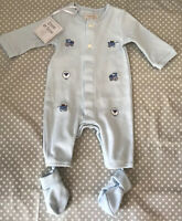 Emile Et Rose Baby Sleepsuit And Booties New Newborn RRP £34.99