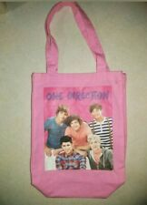 Pink Canvas 1D (One Direction) Tote Bag-Approx 13x13