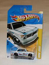 2012 Hot Wheels HW Premiere #21 BMW 2002 White New