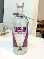 Rare Absolut Los Angeles Bottle with neck tag (Empty)