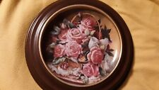 Franklin Mint Grace De Monaco Rose Plate Numbered And Framed