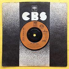 EARTH WIND & FIRE - Let Me Talk - CBS 8982 VG+ état