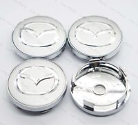 4Pcs 60mm Car Styling Wheel Center Hub Caps Badge Rim Dust Cover Logo for Mazda