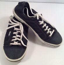 Teva J-Step Men's 8.5 Black Canvas, Mesh Tennis Shoes, Sneakers 1002276