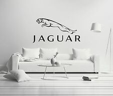 Jaguar Shield Cars Company Luxury Wall Decal Decor For Car Home X-Large