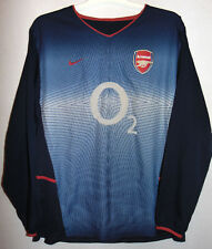 Arsenal 2002-2004 Away Football Shirt Rare Long Sleeve 2XL XXL INVINCIBLES