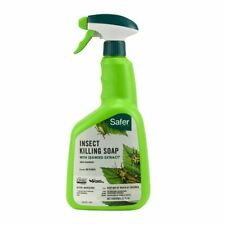 Safer Insect Killing Soap, Omri Listed, 32 ounces, Ready to Spray