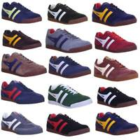 Gola Classics Harrier Premium Mens Suede Leather Trainers Size 7 - 12