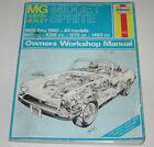 Reparaturanleitung MG Midget Austin Healey Sprite Workshop Manual Stand 1982!