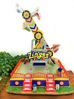 Lemax Christmas Carnival Village Zinger Ride 84809 Retired 2013 VIDEO Rare Find