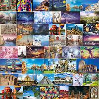 1000 Teile Erwachsene Kinder Puzzle Haushalt See Sonnenaufgang Puzzle-Spiel