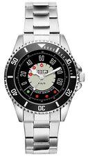 KIESENBERG Uhr - Geschenke für FIAT 500 Fan Tacho 20765
