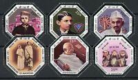 India Famous People Stamps 2019 MNH Mahatma Gandhi Historical Figures 6v Set