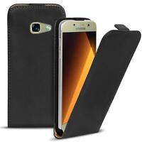 Flip Case Samsung Galaxy A3 2017 A320 Hülle Pu Leder Klapp Handy Tasche Cover
