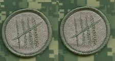 "KANDAHAR WHACKER© US ARMY RANGERS 5TH SFG SNIPER LITE ACU 2"" SSI: KILL COUNT X 2"