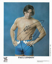 Wwe Paul London P-895 Hand Signed Autographed 8X10 Promo Photo With Coa