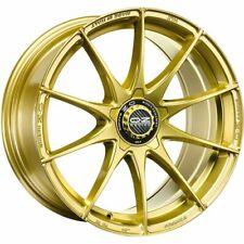 OZ RACING FORMULA HLT RACE GOLD ALLOY WHEEL 18X8 ET48 5X100