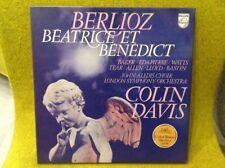 Box 2 LP + Livret - BERLIOZ -BEATRICE & BENEDICT - COLIN DAVIS -PHILIPS 6700121