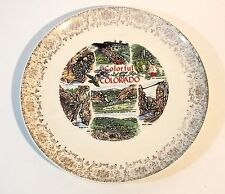 Colorful Colorado Souvenir Decorative Plate Vacation Landmark Royal Gorge Scenic