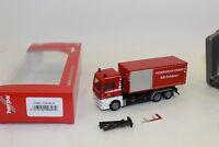 Herpa 093279 MAN TGX XLX camion Abrollcontainer Pompier Manger 1:87 H0