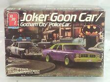 AMT 1:25 Scale Joker Goon Car Batman Gotham City Police Car Dodge #6826