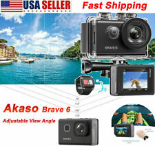 AKASO Brave 6 Sports Action Camera DV Camcorder 4K UHD 20MP Multifunction Camera