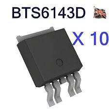 10 lotti bts6143d preamplificatore MOSFET allo to-252-5 SMART falda alta SMD interruttore di alimentazione UK STOCK
