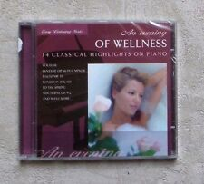 "CD AUDIO MUSIQUE/ AN WELLNESS ""14 CLASSICAL HIHLIGHTS ON PIANO"" 14T CD 2003 NEUF"