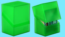 ULTIMATE GUARD BOULDER EMERALD Standard Size DECK CASE 80+ NEW Card Storage Box