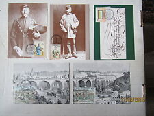 Nice Lot Of (5) Very Fine!! Maxi Cards / Luxembourg SCOTT #s 981 - 946 /