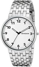 Stainless Steel Band Quartz (Battery) Watches Skagen Ancher