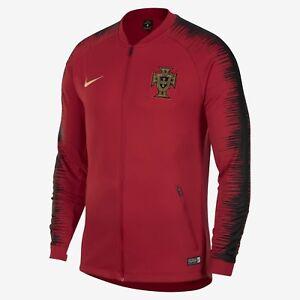 NIKE PORTUGAL ANTHEM JACKET FIFA WORLD CUP 2018 Gym Red/Black